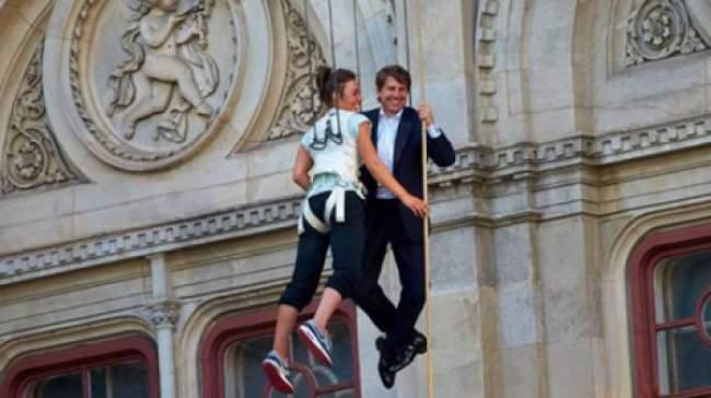 «توم كروز» في فيينا لتصوير مشاهد رومانسية
