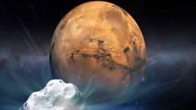 لقاء مذنب مع المريخ قد يسبب كارثة