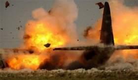 """تحطم طائرة حربية جزائرية و""""نجاه"""" قائدها"""
