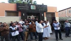 نقابة شباط تشعل الاحتجاج داخل فوسفاط العيون
