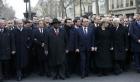 زعماء عرب جنبا إلى جنب مع ناتانياهو في مسيرة باريس