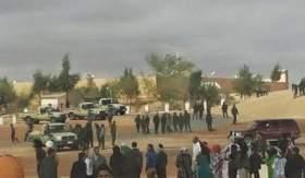 بالفيديو ..احتجاجات ضد زعيم البوليساريو بتندوف
