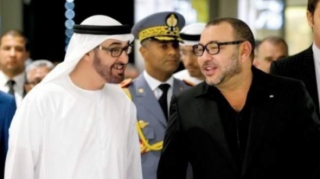 ولي عهد أبو ظبي في زيارة رسمية للمغرب