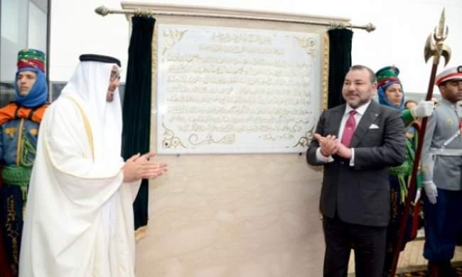 الملك ومحمد بن زايد يدشنان مستشفى الشيخ خليفة الضخم بالداراليضاء