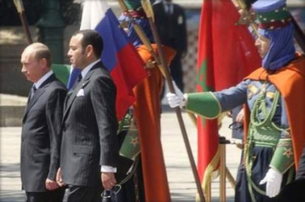 زيارة الملك محمد السادس إلى روسيا في طور الإعداد