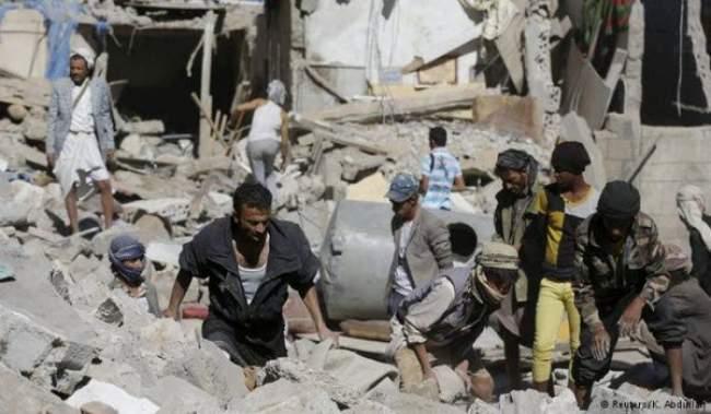 """""""هيومن رايتس ووتش"""": التحالف العربي استخدم """"ذخائر عنقودية محظورة"""" في اليمن"""