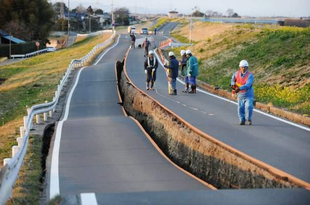 زلزال بقوة 7,8 درجات قبالة سواحل اليابان