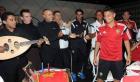 بالصور.. الأسود يحتفلون بعيد ميلاد هاشم مستور الـ17