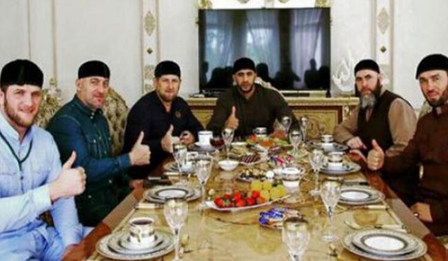 بالصور.. بدر هاري رفقة رئيس الشيشان قديروف