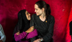 بالصور.. أنجلينا جولي تزور اللاجئين السوريين في تركيا