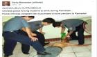 هذه حقيقة إجبار الشرطة الصينية لمواطن مسلم على الإفطار