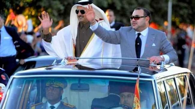 الملك يؤكد لأمير قطر حرصه على النهوض بالشراكة الإستراتيجية بين البلدين