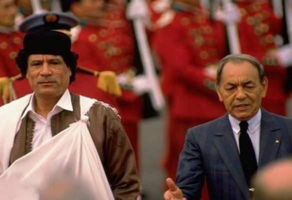 هكذا سعى معمر القذافي لاغتيال الحسن الثاني وحسني مبارك