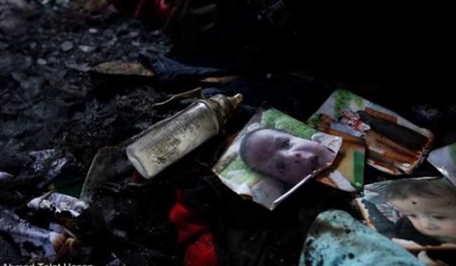 """""""#حرقوا_الرضيع"""" هاشتاغ يتصدر تويتر بعد استشهاد الطفل الفلسطيني علي دوابشة"""