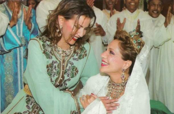 مدللة الحسن الثاني الأميرة للا سكينة تضع مولودين توأمين بباريس