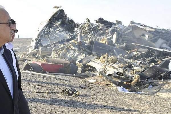 بداية التحقيقات حول أسباب تحطم طائرة الركاب الروسية في سيناء المصرية
