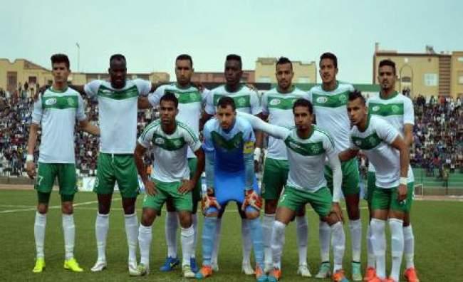 فريق المولودية الوجدية يفوز ببني ملال على أولمبيك خريبكة 2 - 1