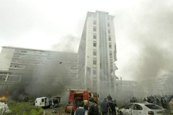 الحكم بالإعدام على المسؤول المباشر في الاعتداءات الإرهابية بالجزائر لسنة 2007