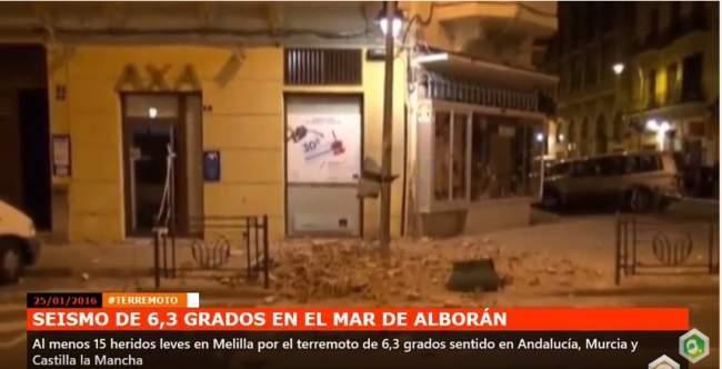 زلزال البحر المتوسط .. إصابة 26 شخصا بمدينة مليلية المحتلة وخسائر مادية كبيرة