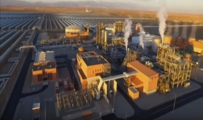 """فيديو .. مشروع """"نور"""" أكبر محطة للطاقة الشمسية في العالم"""