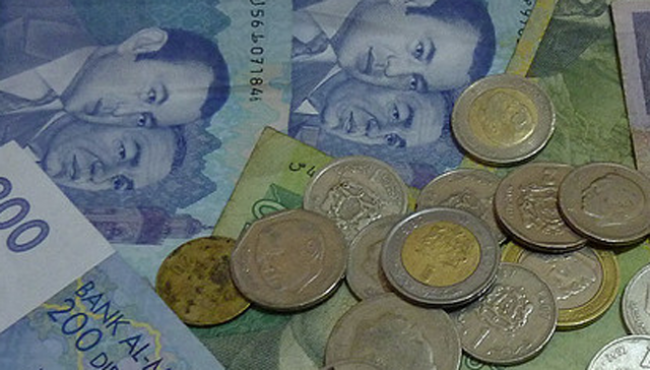 قيمة الدرهم ترتفع بـ 0.12 في المائة مقابل الأورو