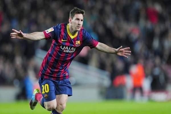 ميسي يسجل هدفه 301 في الدوري الاسباني وبرشلونة يوسع الفارق في الصدارة