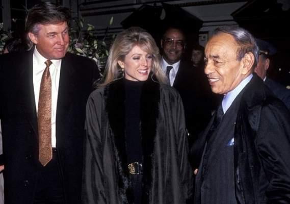 """صور.. عندما استقبل المرشح الجمهوري """"دونالد ترامب"""" الراحل الحسن الثاني في نيويورك"""