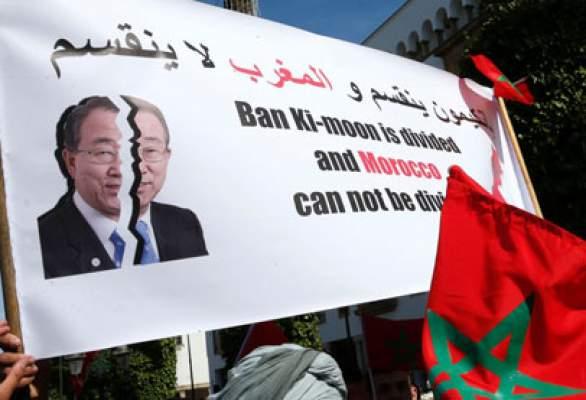 """بان كيمون """"محبط"""" بعد فشله في إقناع مجلس الأمن باتخاذ موقف من المغرب"""