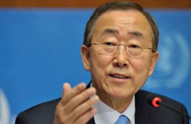 بان كيمون يؤجل عرض تقريره أمام مجلس الأمن إلى أجل غير مسمى