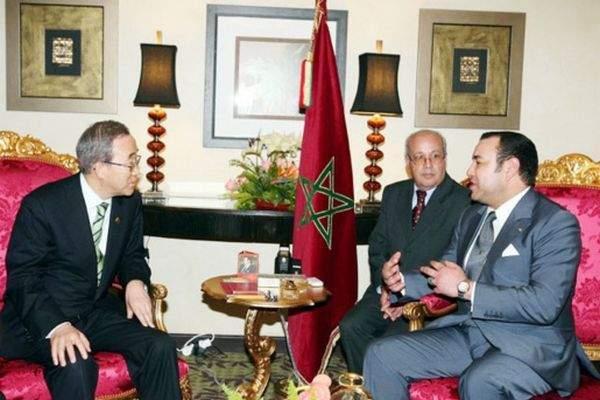 حين دعا محمد السادس بان كي مون لزيارة الرباط