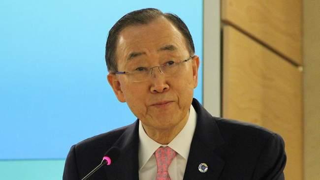 """""""بان كي مون يعرب عن سعادته بقرار مجلس الأمن الدولي حول """"الصحراء"""