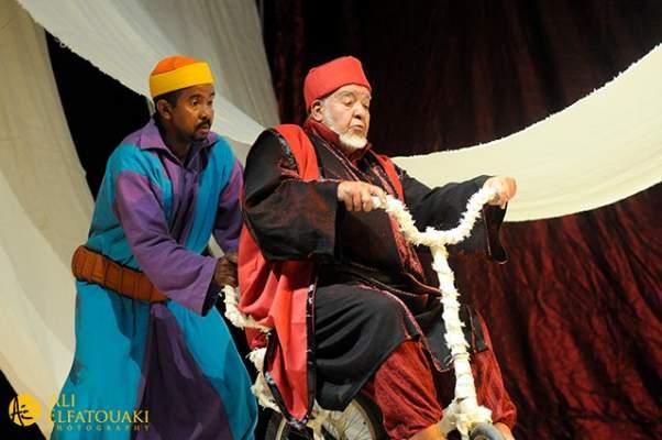 عد إشاعات وفاته.. رمضان يعيد عبد الجبار لوزير إلى جمهوره (+صور)