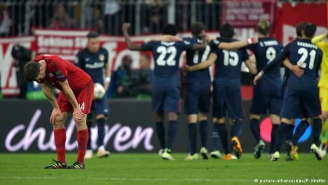 أتليتيكو يقصي بايرن ويبلغ نهائي دوري أبطال أوروبا