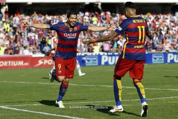سواريز يقود برشلونة للتتويج بلقب الدوري الاسباني للمرة الـ 24