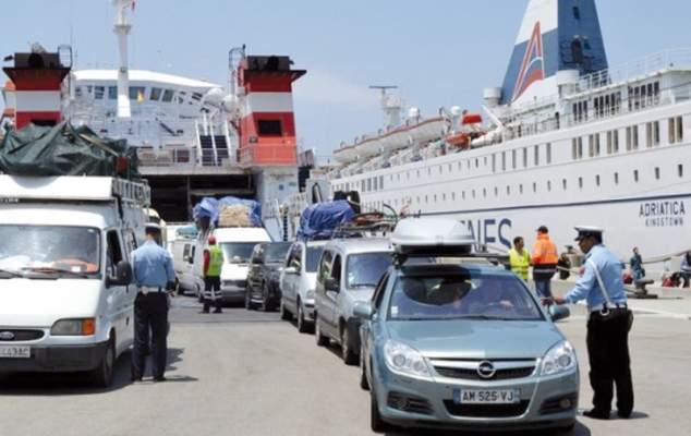 تزايد عدد الوافدين على المغرب عبر ميناء طنجة المتوسط