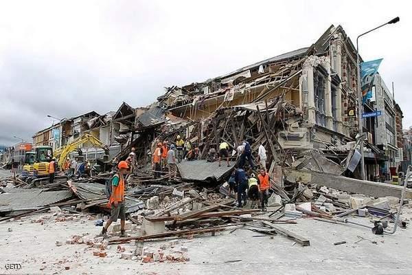 زلزال بقوة 7,1 درجات يضرب نيوزيلندا وتحذير من تسونامي