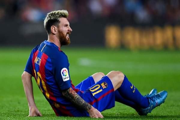 برشلونة يتلقى ضربة موجعة بغياب ميسي لثلاثة أسابيع