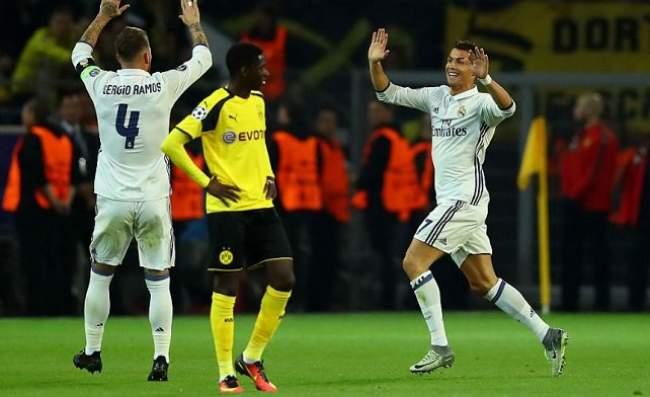 ريال مدريد يعود بتعادل ثمين من دورتموند في دوري أبطال أوروبا
