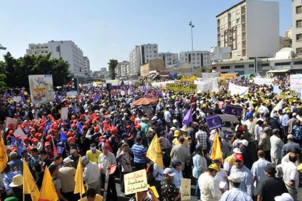 """أقوال الصحف: مسيرة وطنية لإعلان """"الرفض الجماعي"""" لقانون إصلاح التقاعد"""