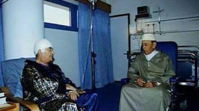 قبل 17 سنة.. يوم زار الحسن الثاني اليوسفي في المستشفى !