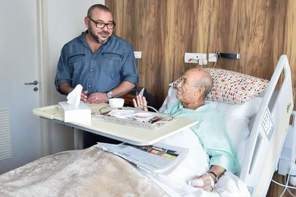 قبل لقائه بلشكر.. ابن كيران يزور اليوسفي في المستشفى