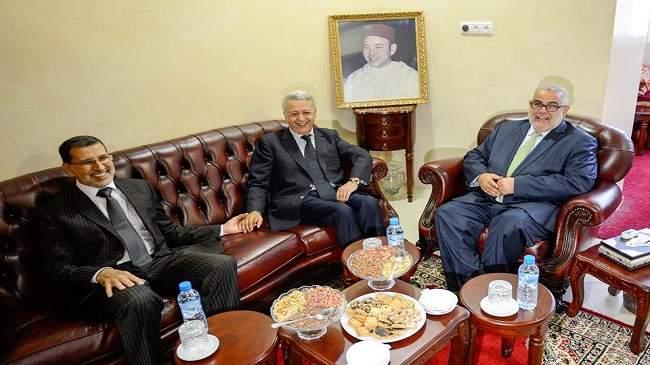 ساجد يلتقي بنكيران في إطار مشاورات تشكيل الحكومة الجديدة