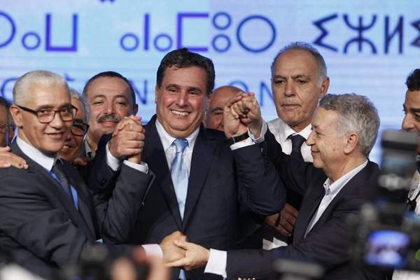 """فيديو.. أخنوش بعد انتخابه على رأس الـ""""RNI"""": توجه الحزب هو المواطن أولا"""