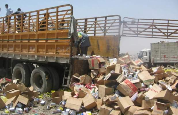 حجز وإتلاف أزيد 300 طن من المنتجات الغذائية غير الصالحة للاستهلاك