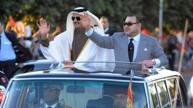 الملك يهنئ أمير دولة قطر بمناسبة العيد الوطني لبلاده