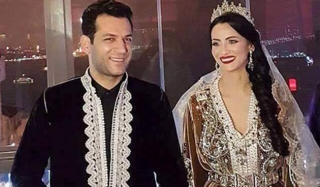 ألبوم صور حفل حناء ايمان الباني و زوجها التركي مراد يلدريم