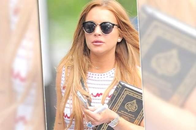 """مسلمون يهنئون الممثلة ليندسي لوهان بعد """"اعتناقها الإسلام"""""""