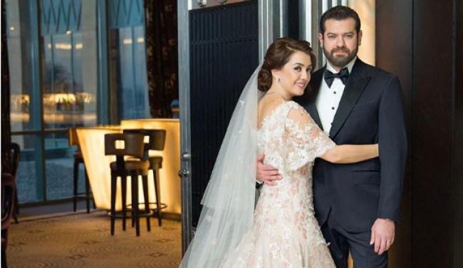 بالصور: عمرو يوسف وكندة علوش يحتفلان بزفافهما سرا
