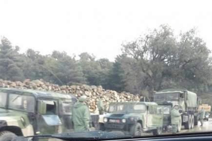 """تعزيزات عسكرية تصل إلى دائرة """"باب برد"""" بشفشاون"""