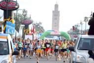 أزيد من ثمانية آلاف مشارك في الدورة الـ28 لماراطون مراكش الدولي